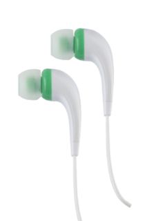 RCA Contoured Earbuds - Green HP161GR