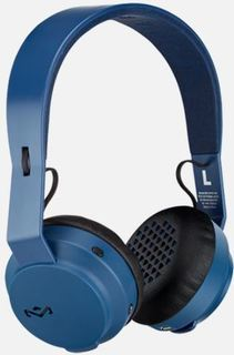 Marley Rebel Bluetooth Headphones - Navy