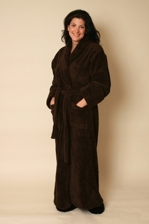 Warm Buddy Ultra Spa Robe - 7006-Chocolate