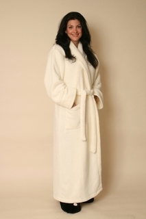Warm Buddy Ultra Spa Robe - 7006-Cream