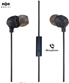 Marley Little Bird - Black - 1 Button Mic - EM-JE061-BK