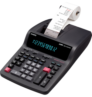 Casio - Heavy Duty Printer Calculator - DR210HD
