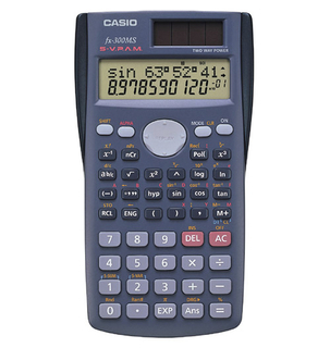 Casio - Scientific Calculators - FX300MSPLUS