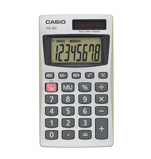 Casio - Calculator - HS8