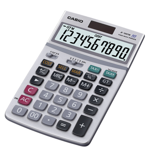 Casio - Desktop Solar Calculators - JF100