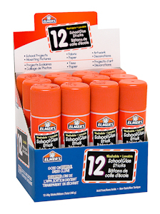 Elmers Washable School Glue 12 X 20 - 61668