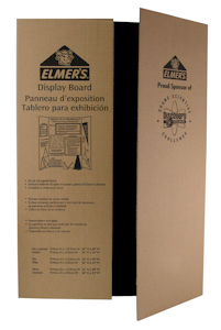 Elmers Black Shipper Display 36X48 - 730191