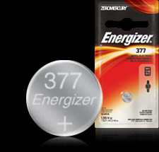 Energizer Button Cell Battery - 377BP