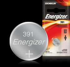 Energizer Button Cell Battery - 391BP