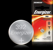 Energizer Button Cell Battery - 392BP