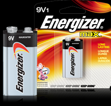 Energizer  9 Volt Battery - 522BP