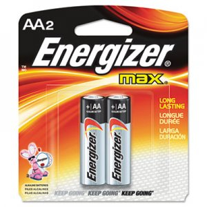 Energizer AA2 Alkaline Battery - E91BP2