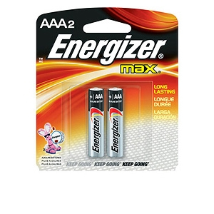 Energizer AAA2 Alkaline Battery - E92BP2