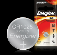 Energizer 3V Button Battery - ECR1025BP