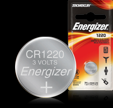 Energizer Button Cell Battery - ECR1220