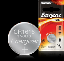Energizer Button Cell Battery - ECR1616