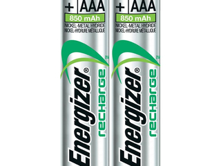 Energizer 2PK AAA NIMH Rechargeable Battery - NH12BP2