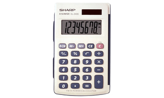 Sharp 8-Digit Basic Calculators - EL243SB