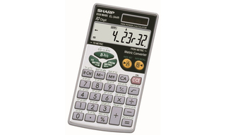 Sharp Metric Calculators - EL344RB