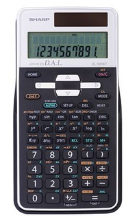 Sharp Scientific 272 Function Calculators - EL531XTB-WH