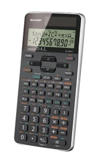 Sharp Scientific 469 Function Calculators - EL546XTBSL