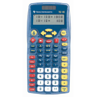Texas Instruments TI Calculators - TI-15