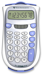 Texas Instruments T.I. - Solar Calculators - TI-1706SV