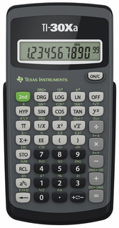 Texas Instruments T.I. - Calculators - TI-30XA