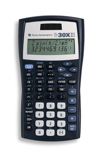 Texas Instruments T.I. - Scientific Calculators -TI-30XIIS