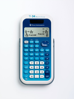 Texas Instruments T.I. - Calculators - TI-34MV