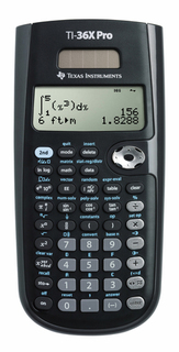 Texas Instruments T.I. - Solar Calculators - TI-36XPRO