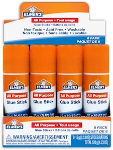 Elmers  Glue Stick 8x15g - 60201Q Product Image