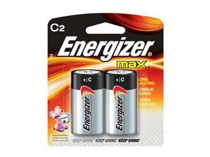 Energizer C2 Alkaline Battery - E93BP2 Product Image