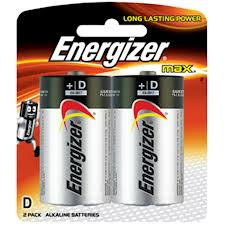 Energizer D2 Alkaline Battery - E95BP2 Product Image