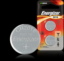 Energizer Button Cell Battery - ECR2016 Product Image