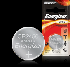 Energizer 3V Button Battery - ECR2450 Product Image