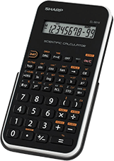 Sharp calculator photo